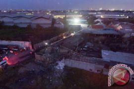 Polisi Memeriksa Pemilik Gudang Petasan Terbakar