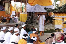 Wagub Bali Menghadiri Ritual Adat di Bangli