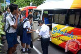 Pemkot Denpasar Harapkan Siswa Manfaatkan Bus Sekolah