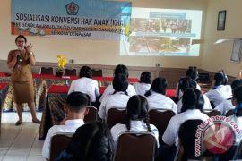 Dinas Permberdayaan Perempuan Sosialisasi Konvensi Hak Anak