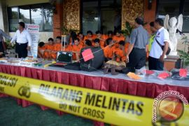Polresta Denpasar Meringkus 29 Tersangka Pencurian