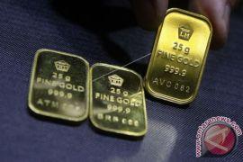 Emas berjangka turun karena dolar AS menguat