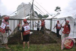 PMI Bali Bangun Hunian Sementara untuk Pengungsi