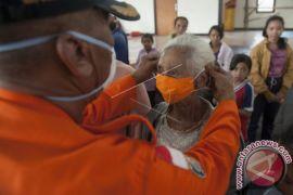 BPBD Bali Bagikan Masker Antisipasi Abu Vulkanik