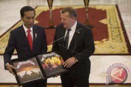 Presiden Jokowi Sambut PM Lars Lokke