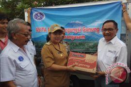 DPP Asita Berikan Sumbangan Pengungsi Gunung Agung