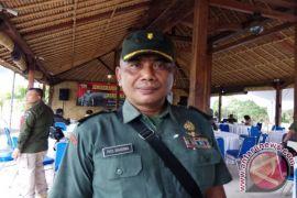 Korem 163/Wirasatya Siaga Hadapi Erupsi Gunung Agung