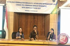 BPJS Denpasar Sasar Pegawai NonPNS Terlindungi Jamsos
