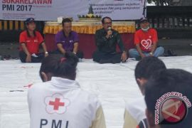 Ratusan relawan PMI Klungkung bantu tangani pengungsi