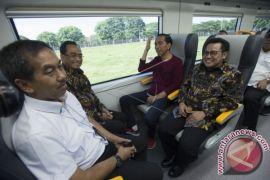 President Jokowi Inaugurates Operation Of Soekarno-Hatta Train
