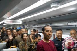 Presiden Jokowi resmikan KA Bandara Soekarno-Hatta