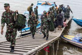 Panglima TNI tinjau penanganan penyakit di Asmat