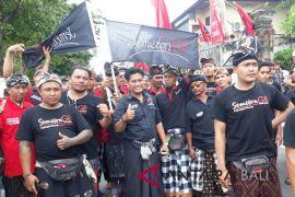 500 relawan SGB Banjarangkan iringi