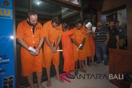 Polda Bali bekuk 16 penculik warga Bulgaria