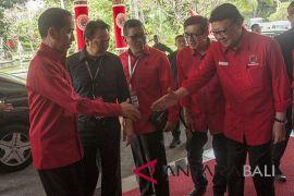 Presiden Jokowi hadiri Rakernas PDIP di Sanur