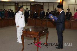 Gubernur Pastika lantik Penjabat Bupati Gianyar