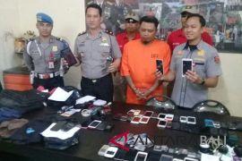 Polisi Denpasar Barat ringkus residivis pembobol hotel