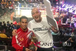 Petinju Kornelis dari Denpasar dinobatkan jadi atlet terbaik