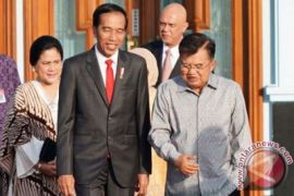 Presiden Jokowi tiba di Australia
