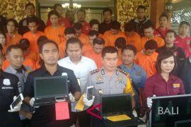 Polresta Denpasar tangkap 28 tersangka operasi agung (video)