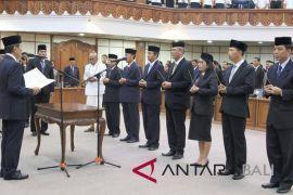 Gubernur Pastika mutasi tujuh pejabat pimpinan pratama