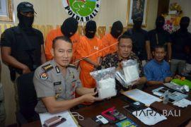 Polda Bali ungkap 1 kilogram sabu-sabu (video)