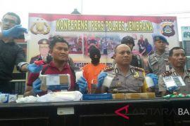Polres Jembrana sita sabu-sabu Rp1 miliar