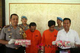 Polresta Denpasar gagalkan peredaran narkoba Rp91 juta (video)