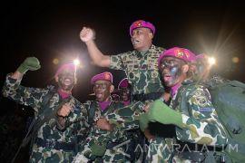 352 Prajurit Marinir resmi menyandang