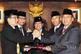 Bupati Badung apresiasi DPRD setujui enam ranperda