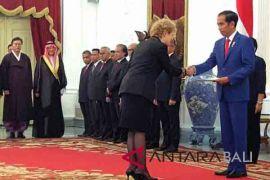 Presiden Jokowi terima surat kepercayaan Dubes LBBP