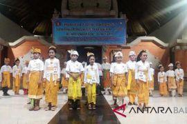 108 anak ikuti lomba busana adat Klungkung