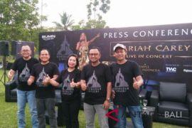 Mariah Carey siap gelar konser perdana di Candi Borobudur