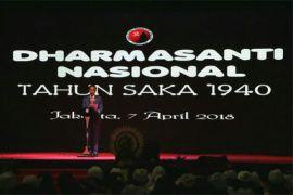 Presiden hadiri peringatan Dharma Santi nasional Nyepi (video)