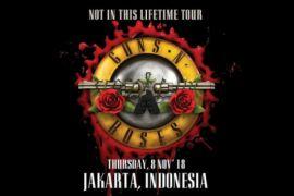 November, Guns N' Roses kembali konser ke Indonesia