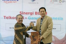 Telkomsel-Garuda Indonesia jalin kerja sama