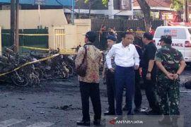 Presiden-Kapolri pantau ledakan Bom Surabaya