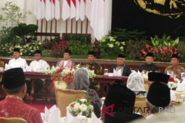 President tells families to fight ideology of terror
