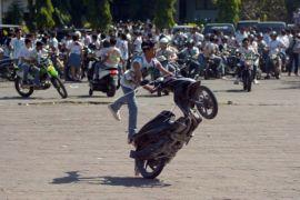 Siswa lakukan aksi corat-coret di Denpasar