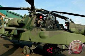Delapan heli tempur Apache resmi bergabung dengan TNI AD