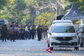Presiden Jokowi tinjau langsung TKP bom gereja Surabaya (video)