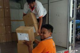 KPU Bali mulai distribusikan surat suara ke Tabanan