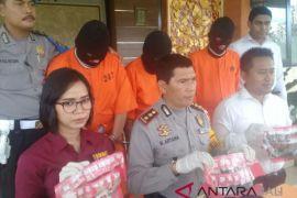 Polresta Denpasar bekuk tiga pengedar narkoba
