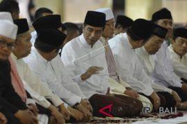 Presiden Jokowi ucapkan