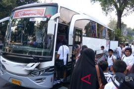 Bank Mandiri Bali berangkatkan ratusan pemudik gratis
