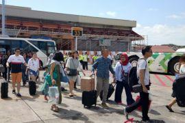 Wisatawan domestik mulai balik setelah berlibur di Bali