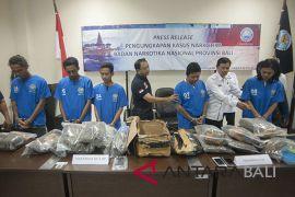 Penangkapan pengedar narkoba Bali