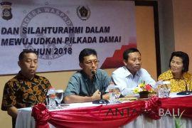 Polda Bali: media massa dukung pilkada aman