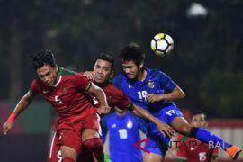Timnas Indonesia takluk 1-2 dari Thailand