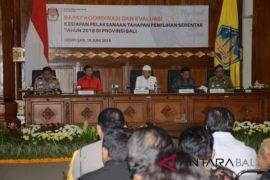 Gubernur Pastika ingatkan KPU konsisten terapkan aturan (video)